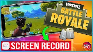 How to Screen Record Fortnite on iPhone: Beginner