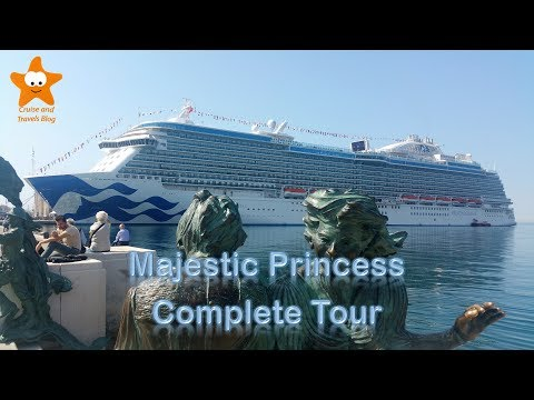 Majestic Princess Complete Video Tour UHD 2017 盛世公主号 @CruisesandTravelsBlog
