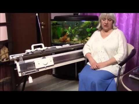 Вязальная машина как работает видео