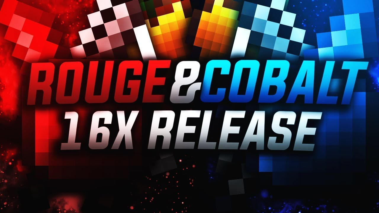 Rogue Cobalt 16x Pvp Texture Pack Best Fps Boosting Uhc