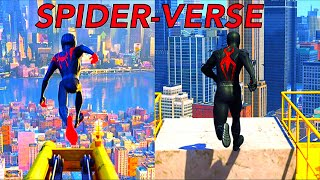 Spider-Verse Miles Becomes Spider-Man PS4 Recreation (Remake)