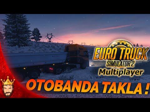 Kar modu Otobanda Takla   Euro Truck Simulator 2 Türkçe Multiplayer