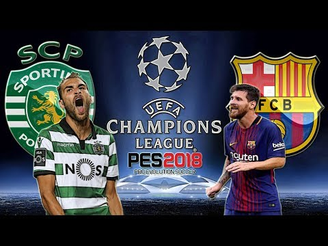 Sporting VS. Barcelona (27/09/2017) UEFA Champions League - PES 2018