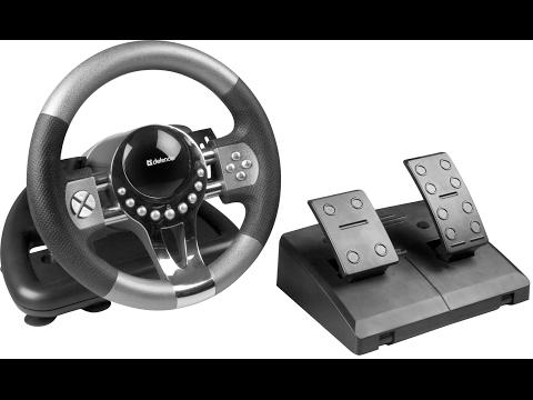 Как подключить и настроить руль в BeamNG Drive?