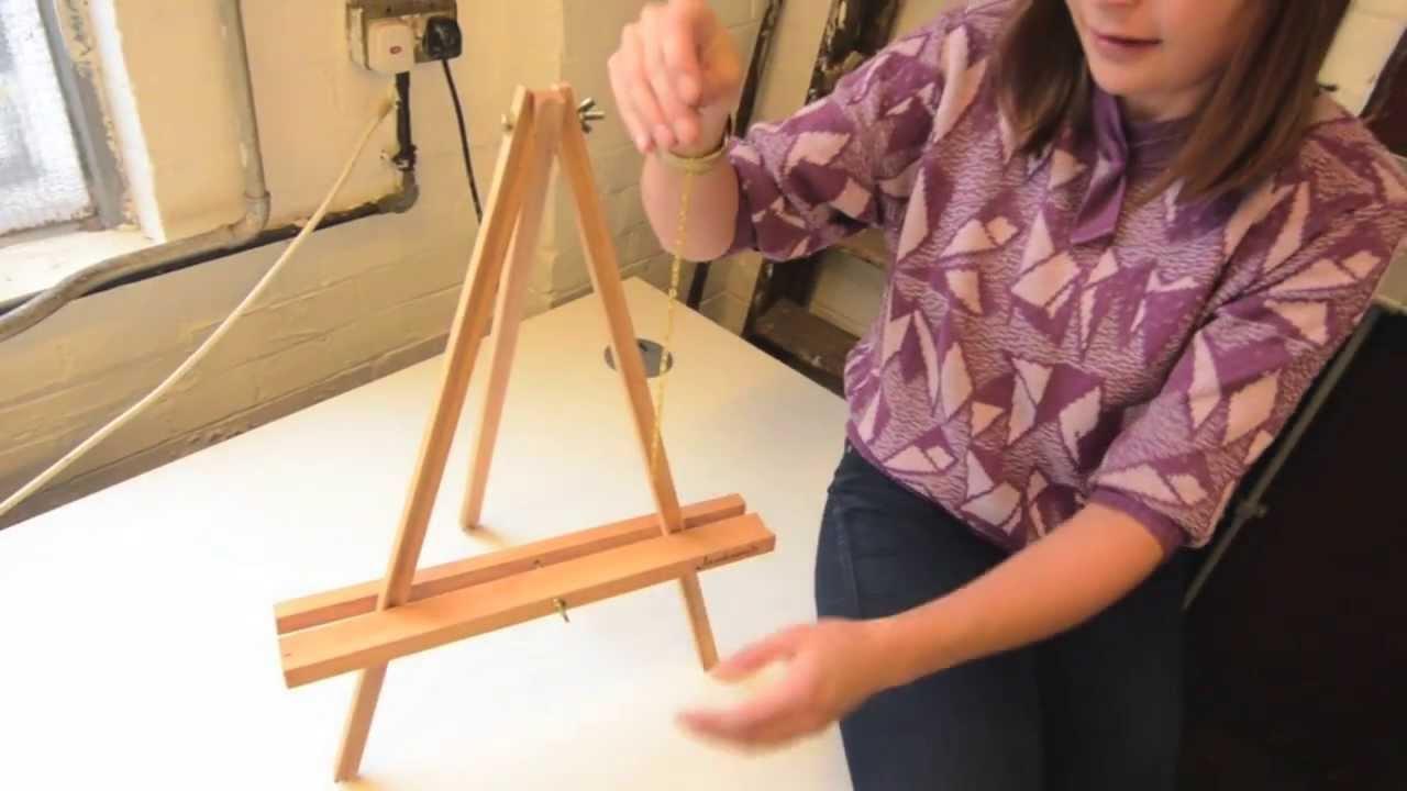 """Jackson's Academy 22"""" Table Easel Construction #1"""