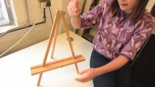 "Jackson's Academy 22"" Table Easel Construction"