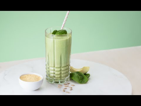 Tasty Avocado and Spinach Smoothie | Oriflame Cosmetics