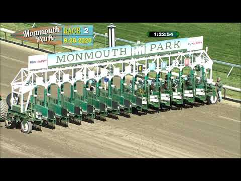 video thumbnail for MONMOUTH PARK 09-20-20 RACE 2