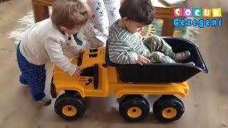 Oyuncak Kamyon İzle Erkek ve Kız Bebek Çocuk Oyuncak ları