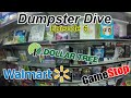 Dumpster Dive at GameStop, Thrift Shop & Dollar Tree! - Walmart Trolls (Ep.6)