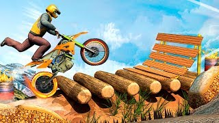 Ramp Bike Stunts - bike stunt game with ramp bike