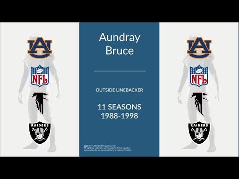 Aundray Bruce: Football Outside Linebacker