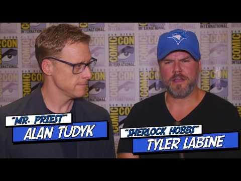 Alan Tudyk & Tyler Labine talk Tucker & Dale vs Evil 2 and their roles on Dirk Gently