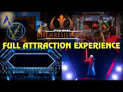 Jizzo - Full Attraction Experience - Star Wars: Rise of the Resistance