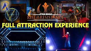 Full Attraction Experience - Star Wars: Rise of the Resistance at Star Wars: Galaxy's Edge