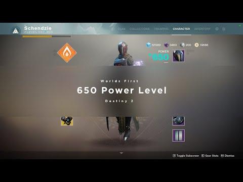 My 650 Power Level Warlock - Destiny 2 Black Armory