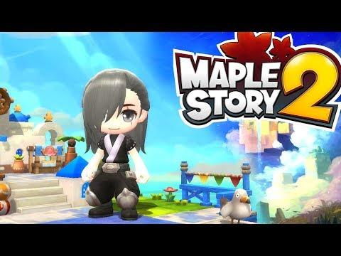 CBT2 Maplestory 2 - En DIRECTO - ¿Qué nos traerá este nuevo juego? ¡Descubrámoslo!