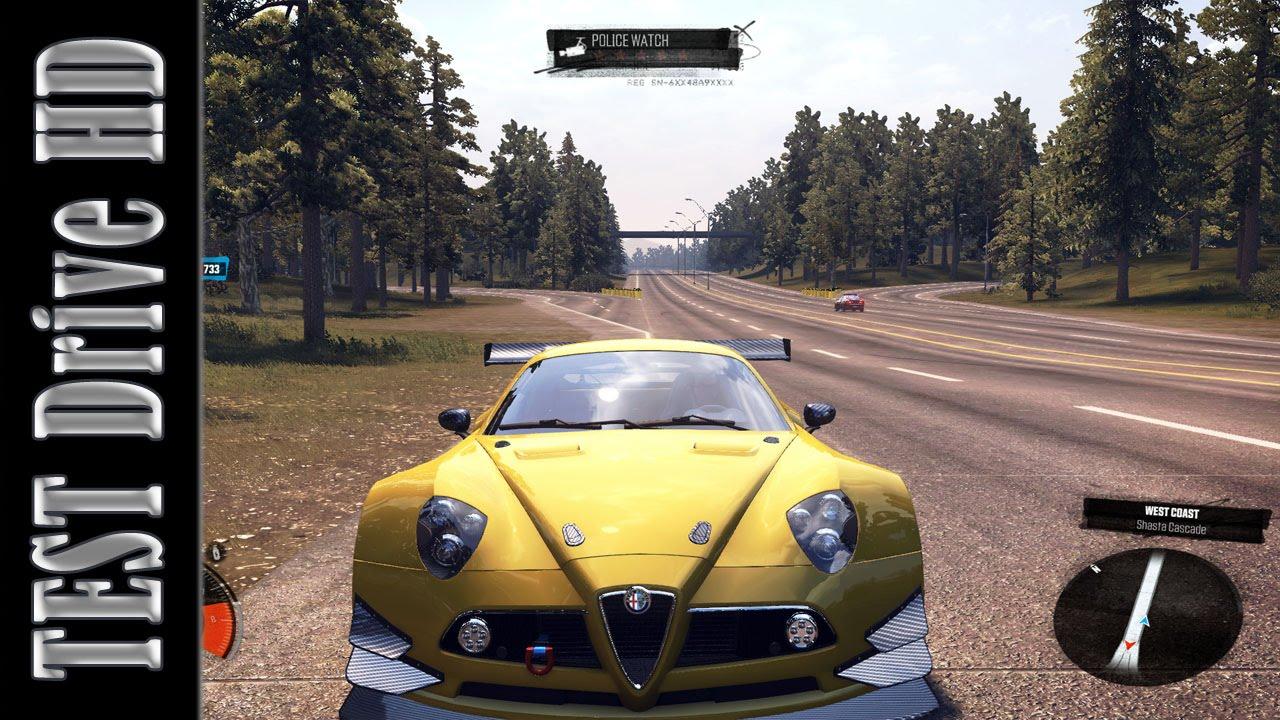 alfa romeo 8c competizione | circuit spec - the crew - test drive