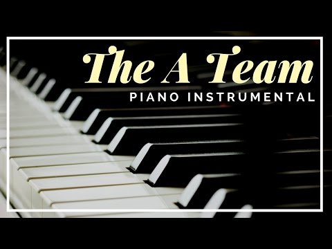 The A Team - Piano Instrumental