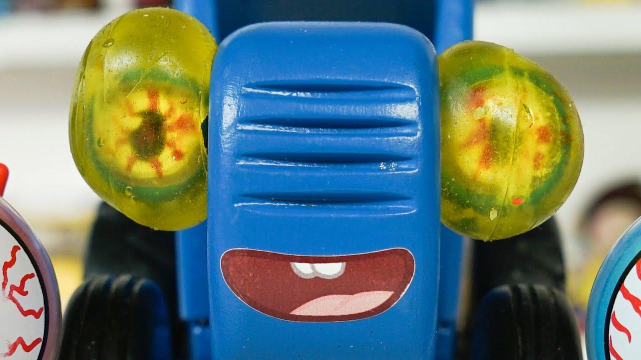Болезни и лечение Синего трактора сборник для детей - YouTube