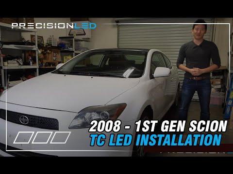 Scion TC LED Install - 2008 1st Gen 2004+ DIY