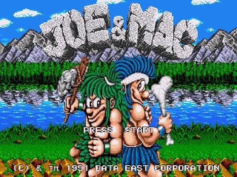 Joe & Mac Прохождение (Sega)
