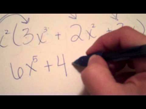 Distributing and Combining Polynomials