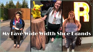 My Favorite Wide Width Shoe Brands! Plus Size Fashion Essentials!