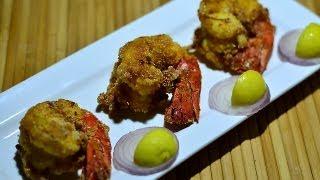 Jumbo Prawns Fry Recipe Video