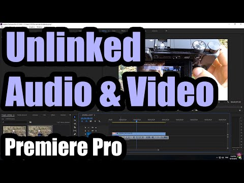 Why Is Premiere Pro Importing Clips With Unlinked Audio & Video (Linked Selection)