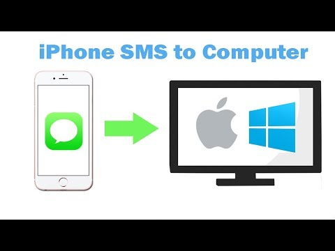 Apps to transfer text messages from iphone to computer