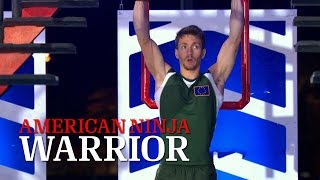 Stefano Ghisolfi at Stage 3 of American Ninja Warrior USA vs The World 2014 | American Ninja Warrior