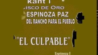 Karaokanta - Espinoza Paz - El culpable
