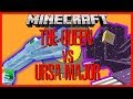 Minecraft - THE QUEEN VS URSA MAJOR (THE QUEEN TAKES ON THE LIKES OF MOBZILLA AND URSA MAJOR!!)
