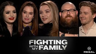 Fighting With My Family: Sit Down with the Stars feat. Matthew Hoffman - Regal - [HD]