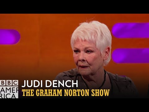 Judi Dench Made A Terrible, Terrible Mistake | The Graham Norton Show | Fridays at 11/10c