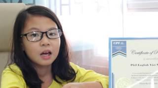 Minh Châu - Chỉ 1 tháng hè tại CPI bé đã nói tiếng Anh thành thạo!