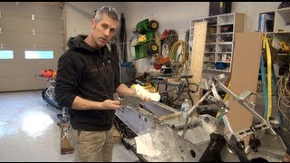 Ski doo Rev Mod 700 build, episode #4, tunnel support bracket install!   PowerModz!