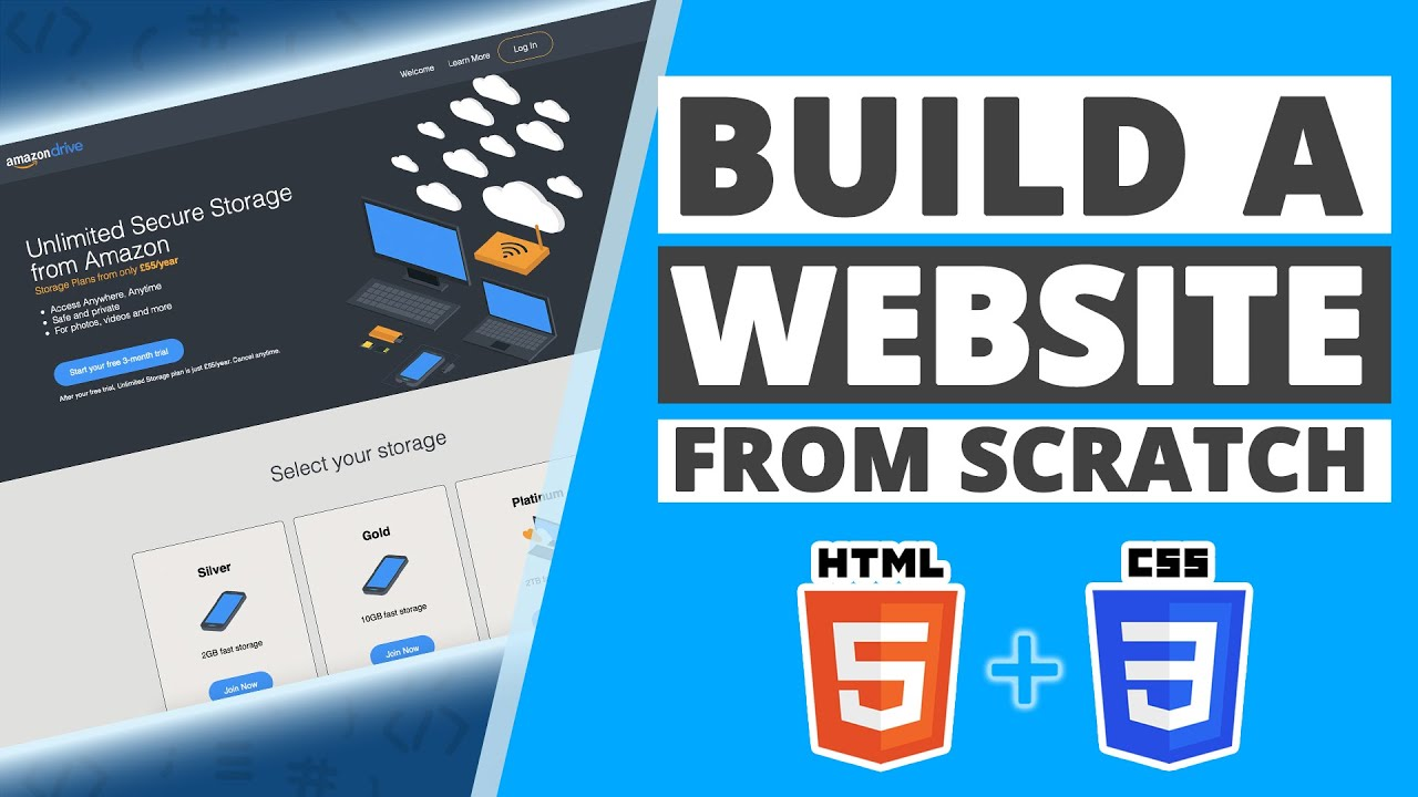 Build a Responsive Website with HTML & CSS