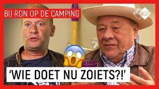 WIE HEEFT OPA OPGESLOTEN? #1 | Bij Ron op de camping | NPO Zapp