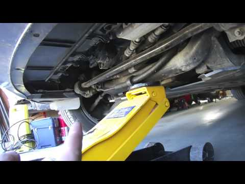 How to Safely Jack up a BMW E46 Using the Proper Lifting Points