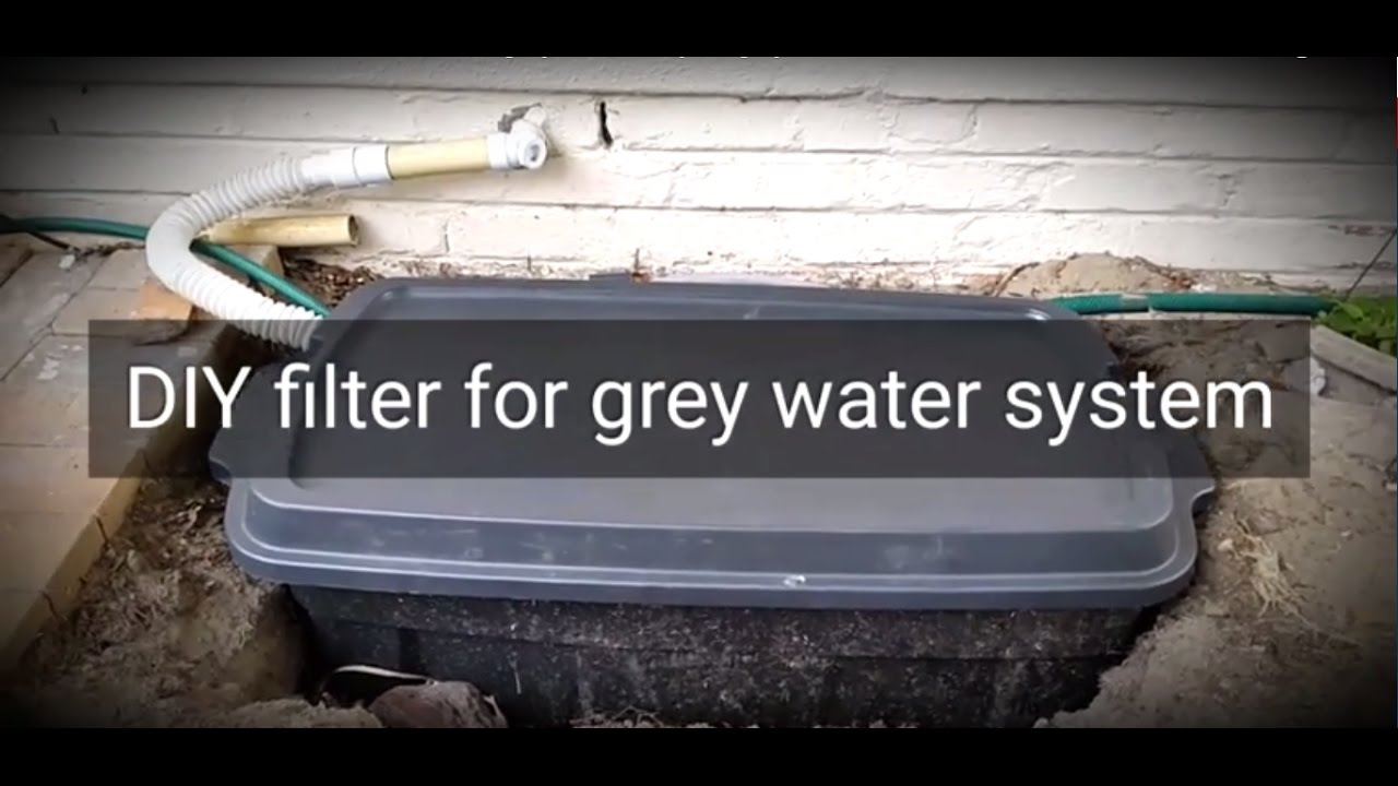 2. How To Make A DIY Filter For A Home Grey Water