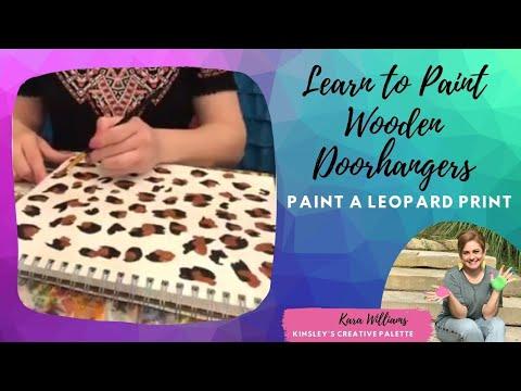 Painting Cheetah Or Leopard Print