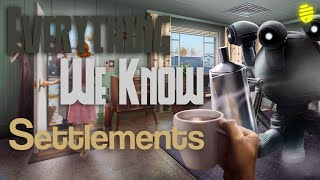 Fallout 4 - Everything We Know About Settlements (News/Speculation)