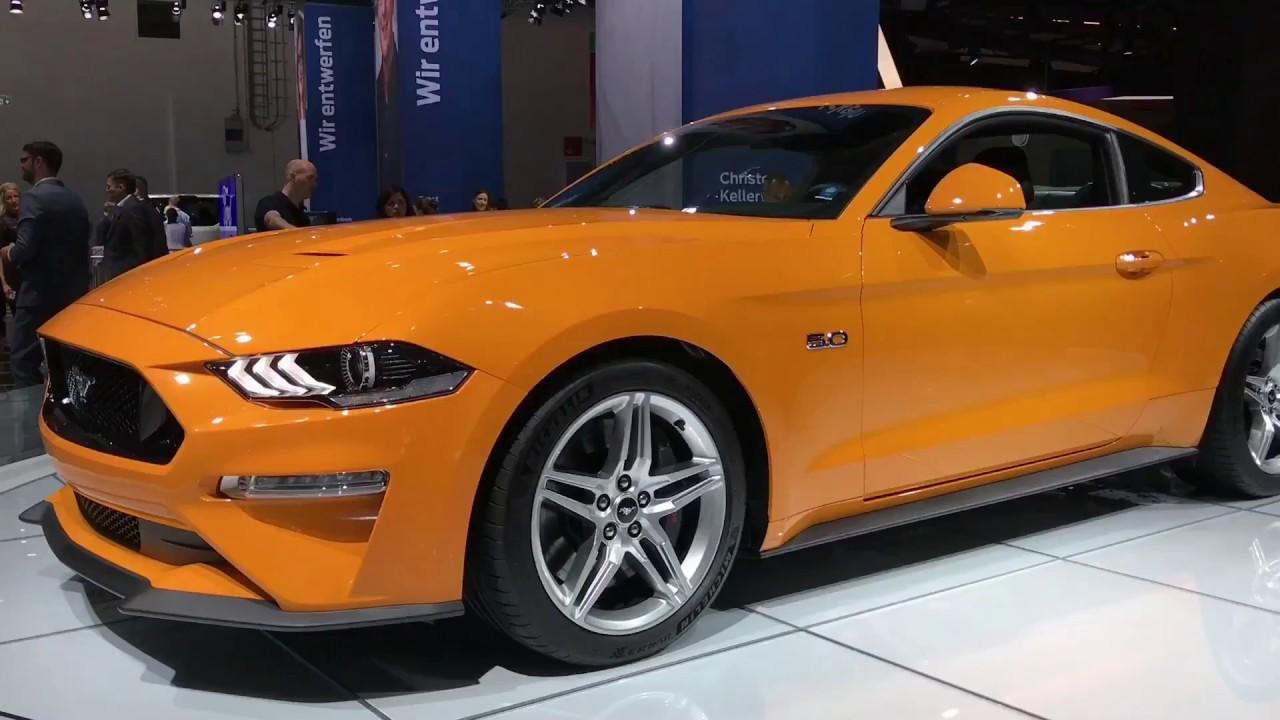 2018 Ford Mustang Facelift Walkaround At Frankfurt Motor Show 2017