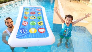 Yusuf'un Tableti Havuza Düştü | Tablet Dropped into the Pool
