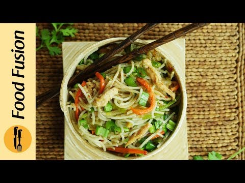 Chicken Hakka Noodles Recipe Desi Chinese Version By Food Fusion