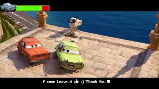 Cars 2 Crash Scene With HealthBars   Remake Video 1080 HD   YouTube