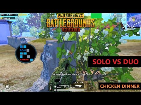 [Hindi] PUBG MOBILE | SOLO VS DUO AMAZING CHICKEN DINNER WITH GRENADE