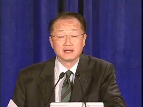 Jim Yong Kim at Korean American Community Foundation gala